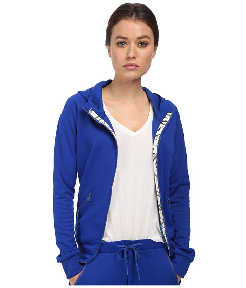 adidas Y-3 by Yohji Yamamoto - Track Zip Hoodie (Collegiate Royal) Women's Sweatshirt