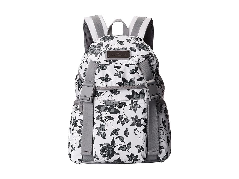 adidas by Stella McCartney - Weekender Backpack (White/Gunmetal) Backpack Bags