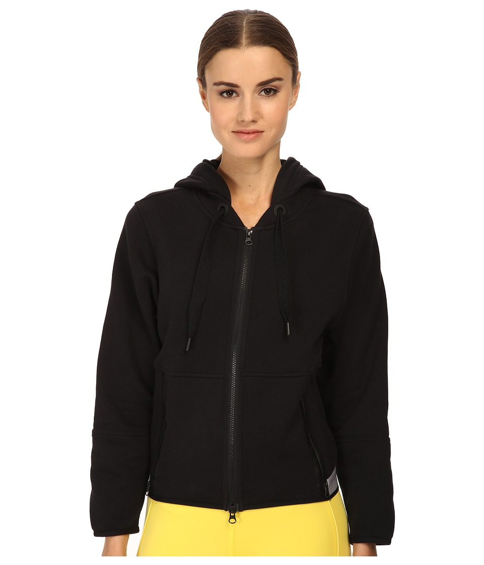 adidas by Stella McCartney - Essentials Hoodie S16185 (Black) Women's Workout