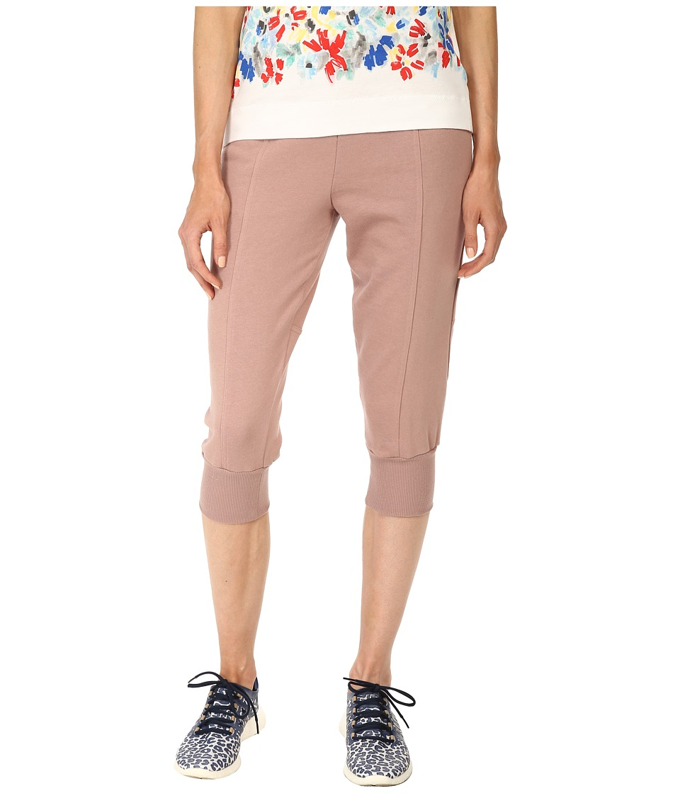 adidas by Stella McCartney - Essentials 3/4 Pants S14670 (Smoked Pink) Women's Workout