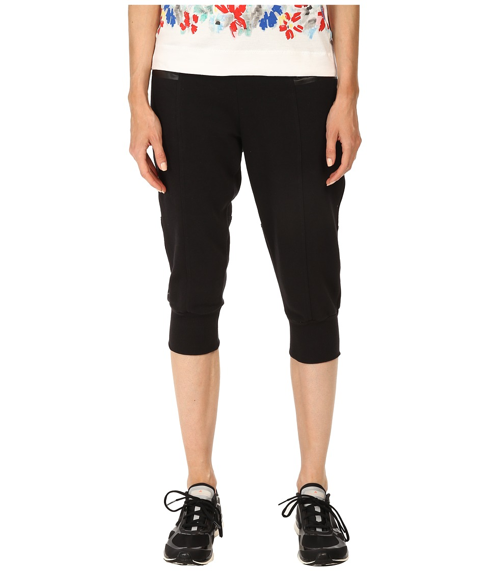 adidas by Stella McCartney - Essentials 3/4 Pants S16186 (Black) Women's Workout