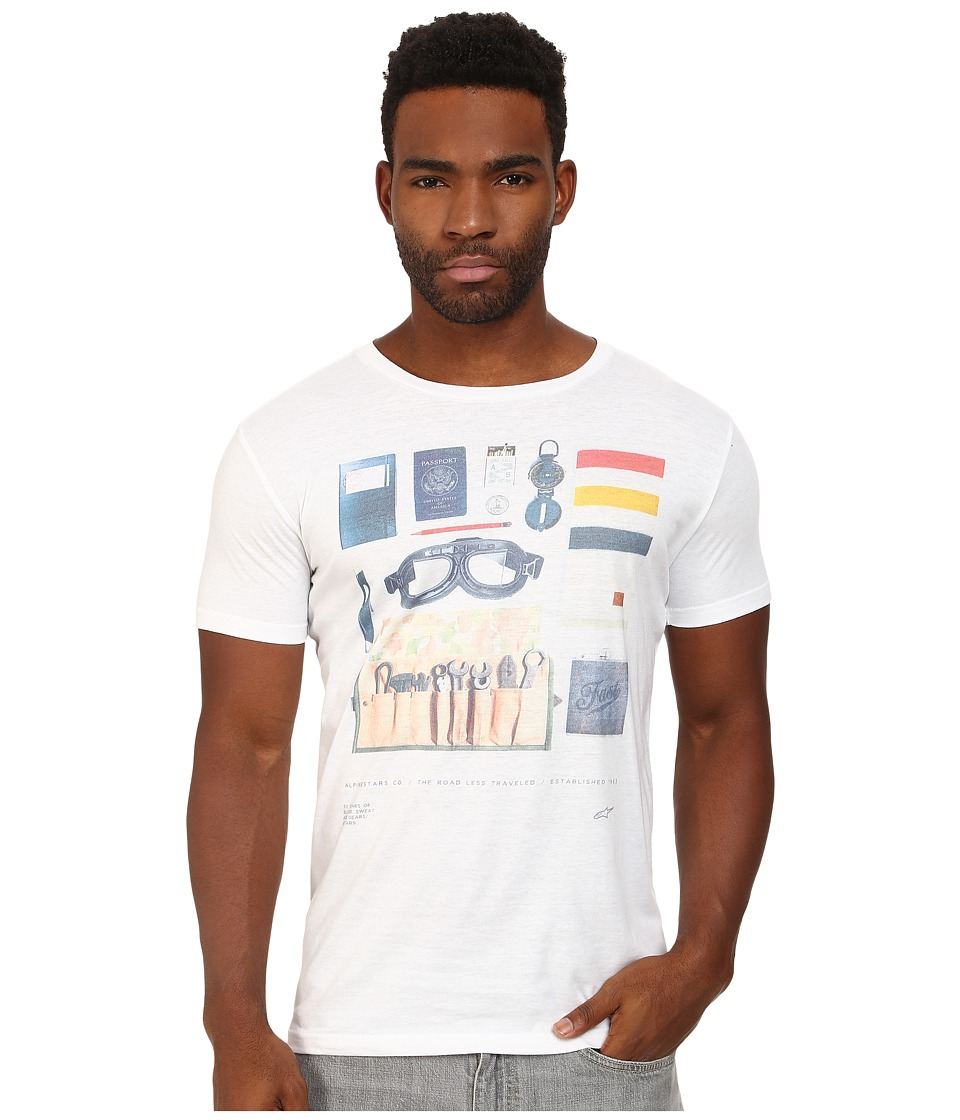 Alpinestars - No Frills Tee (Off White) Men