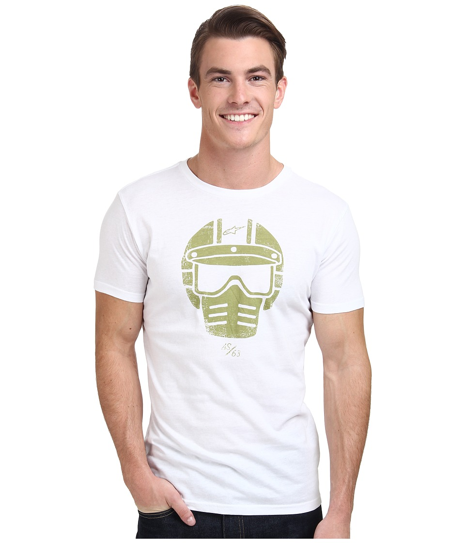 Alpinestars - Visor Tee (Off White) Men's T Shirt