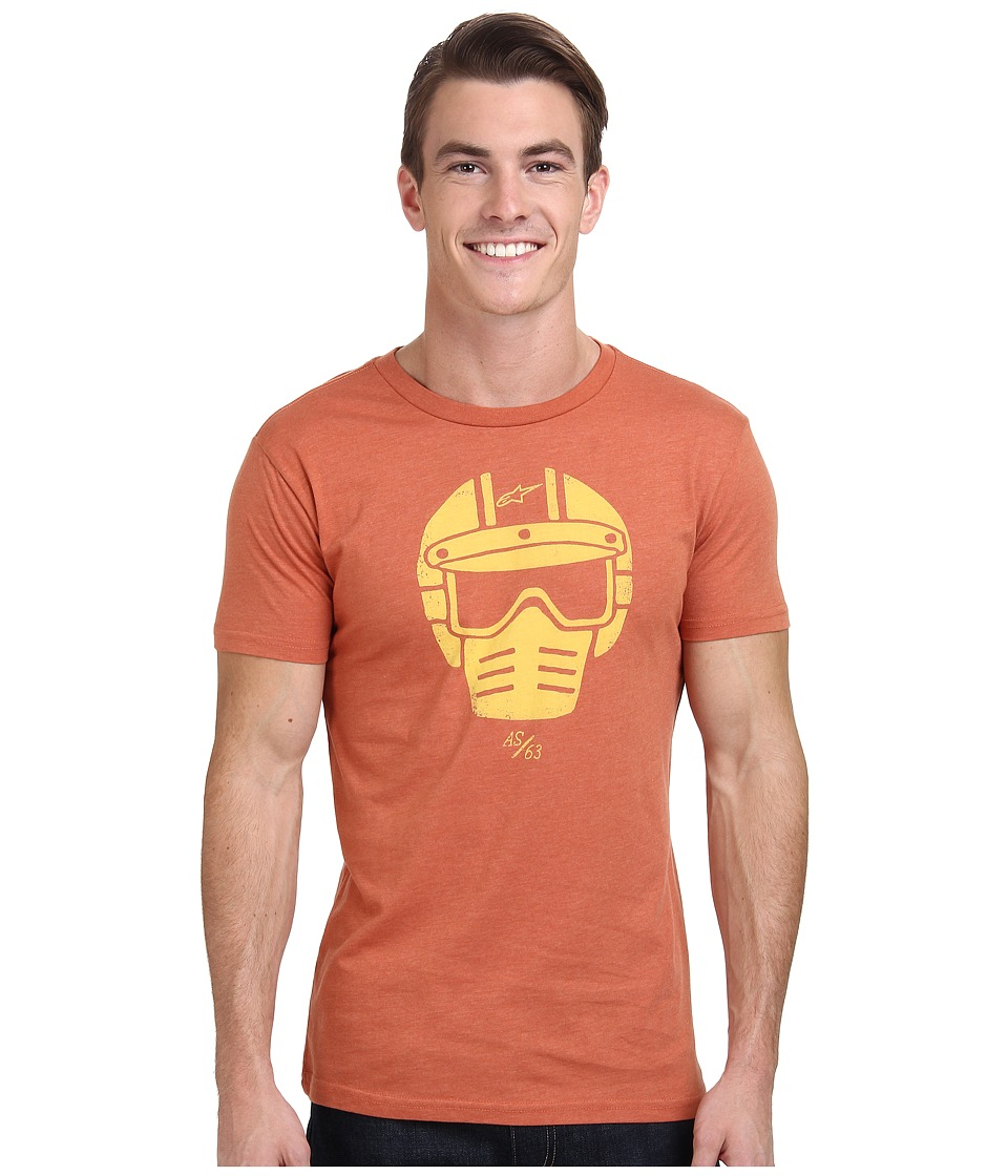 Alpinestars - Visor Tee (Orange Heather) Men's T Shirt