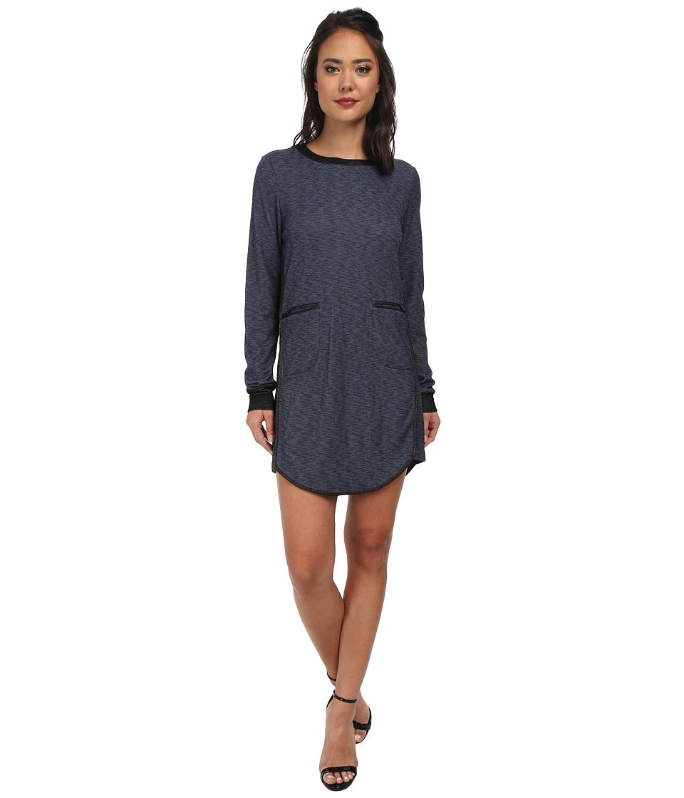 BCBGeneration Contrast Binding Dress (Navy Combo) Women