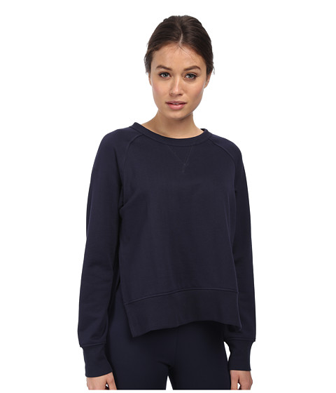 adidas Y-3 by Yohji Yamamoto - Core Sweater (Navy Stripe) Women's Sweater