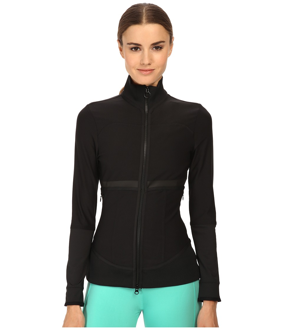 adidas by Stella McCartney - The Midlayer (Black) Women's Workout