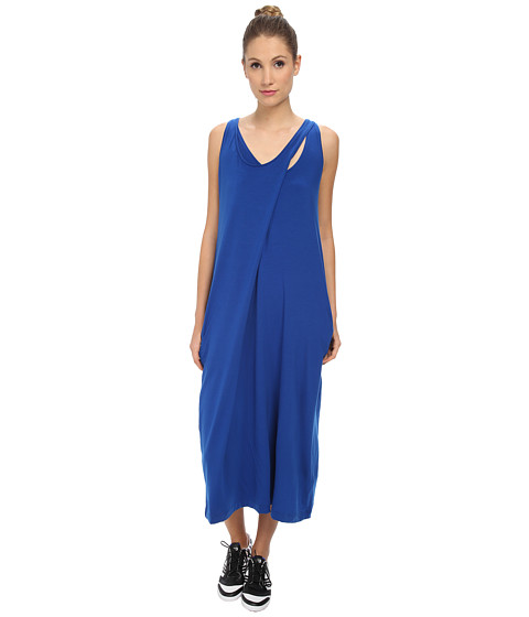 adidas Y-3 by Yohji Yamamoto - Jersey Asymmetrical Dress (Collegiate Royal/Air) Women