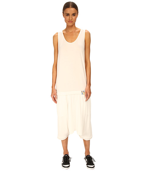 adidas Y-3 by Yohji Yamamoto - Jersey Tank Dress (Core White/Core White/Air) Women