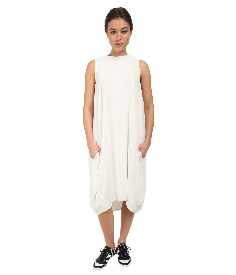 adidas Y-3 by Yohji Yamamoto - Summer Track Dress (Core White/Core White) Women's Dress