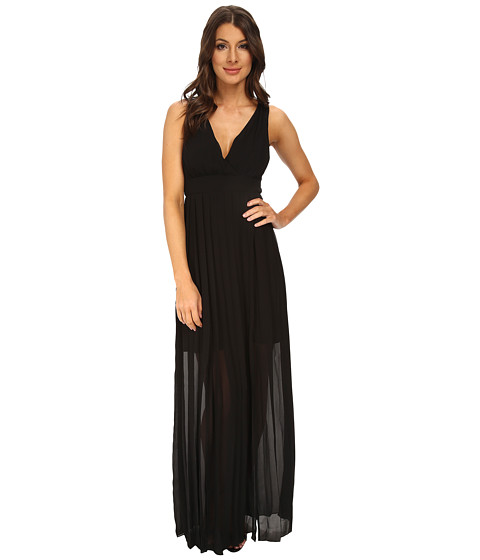 BCBGeneration - Cross Back Dress (Black) Women's Dress