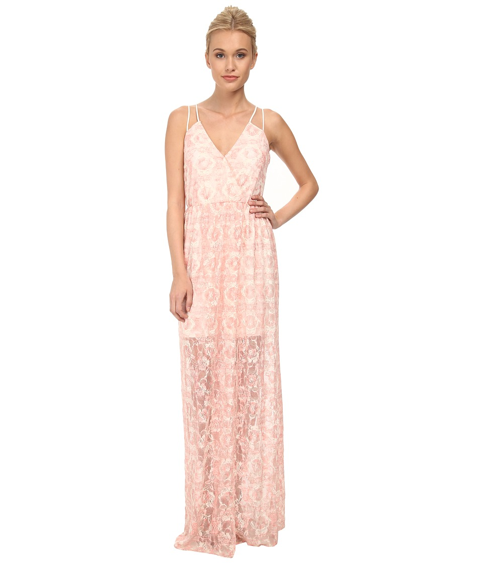BCBGeneration Surplice Maxi Dress (Lena Combo) Women