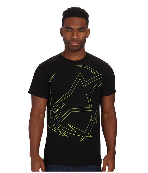Alpinestars - Big Wreath Tee (Black) Men's T Shirt