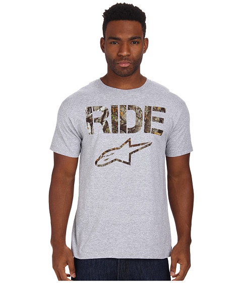 Alpinestars - Ride Camo Tee (Athletic Heather) Men's T Shirt