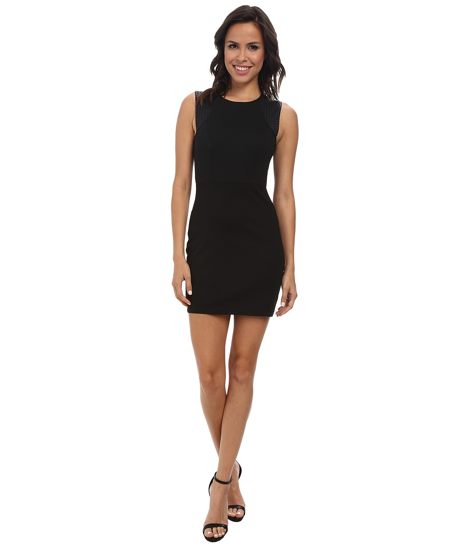 BCBGeneration - Ponte Sheath Dress (Black) Women's Dress