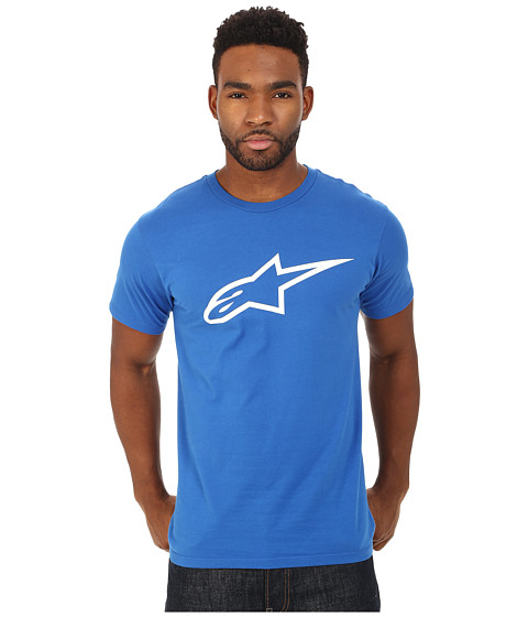 Alpinestars - Ageless Tee (Royal Blue/White) Men