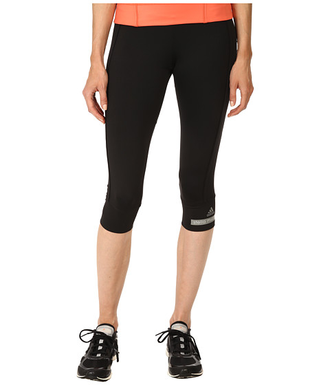 adidas by Stella McCartney - The 3/4 Tight S02968 (Black) Women