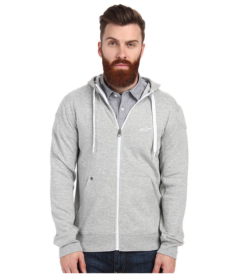 Alpinestars - Showcase Zip Fleece (Heather Gray) Men's Fleece