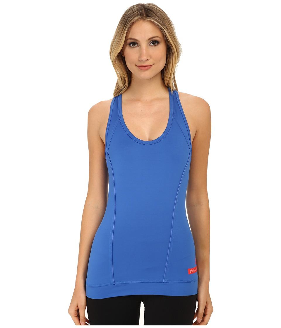 adidas by Stella McCartney - The Perfect Tank Top S87804 (Flight Blue) Women