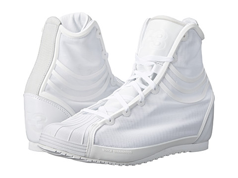 adidas Y-3 by Yohji Yamamoto - Nicke (White/White/White) Women's Shoes