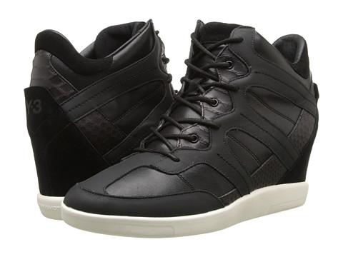 adidas Y-3 by Yohji Yamamoto - Sukita 3 (Black/Cream) Women's Shoes