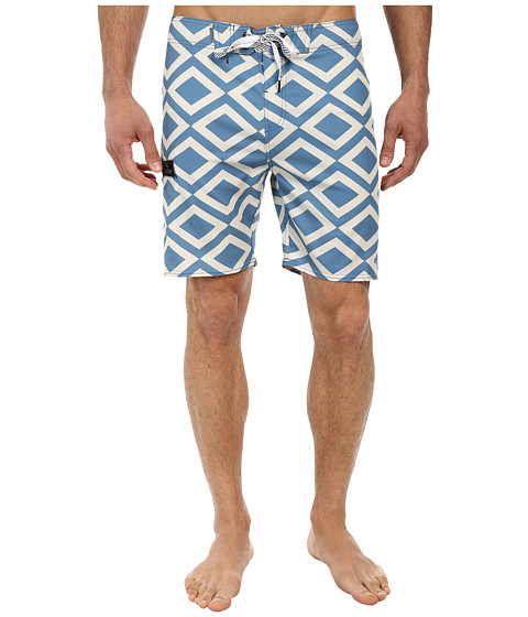 Alpinestars - Quest Boardshorts (Blue) Men's Swimwear