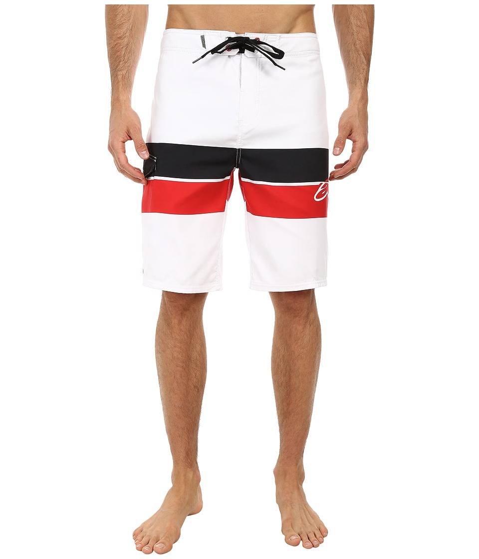 Alpinestars - Factory Boardshorts (White) Men's Swimwear