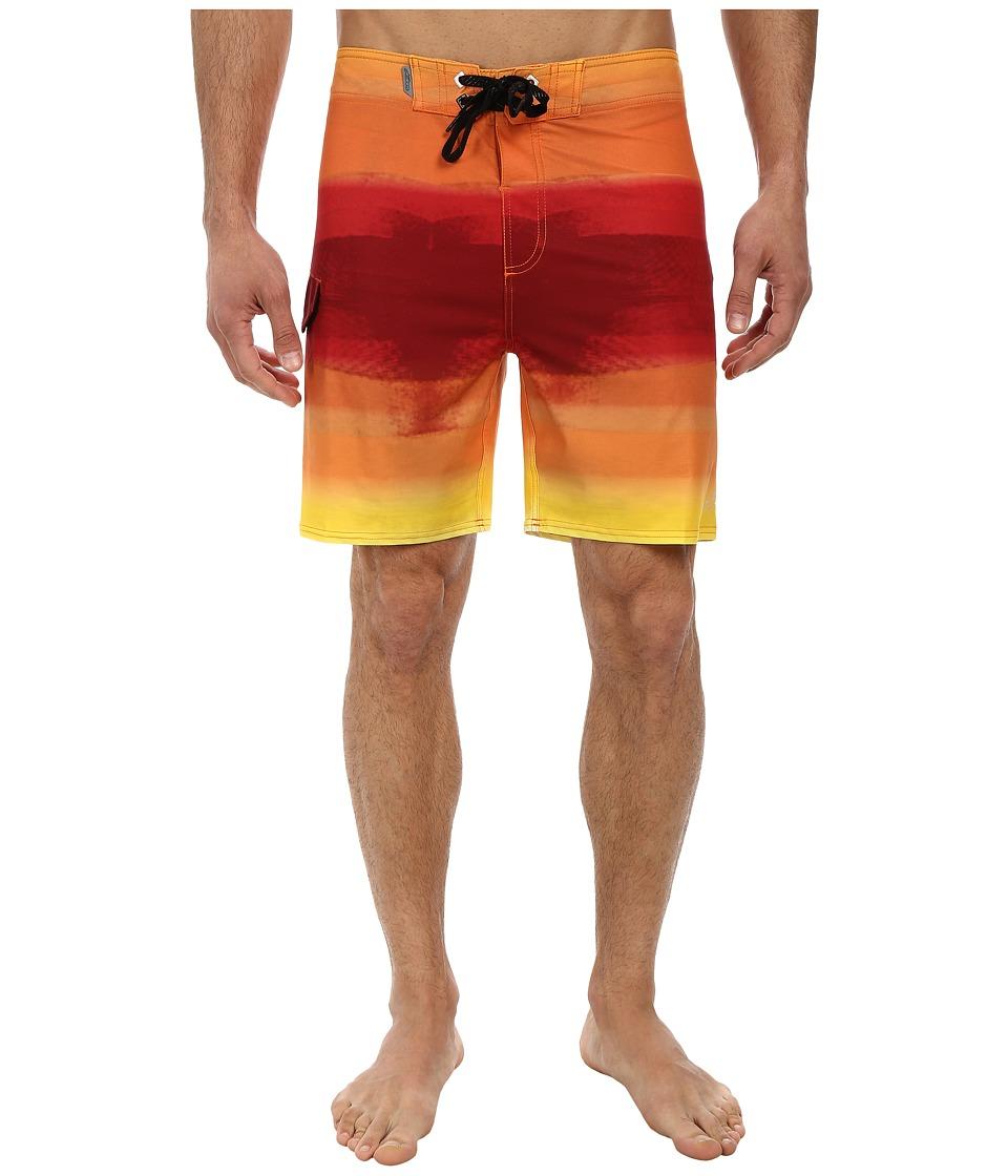 Alpinestars - Flow Boardshorts (Orange) Men's Swimwear