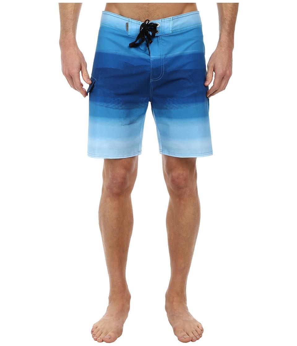 Alpinestars - Flow Boardshorts (Blue) Men's Swimwear