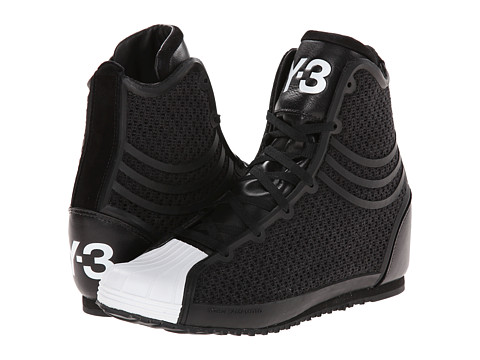 adidas Y-3 by Yohji Yamamoto - Nicke (Black/Black/White) Women's Shoes