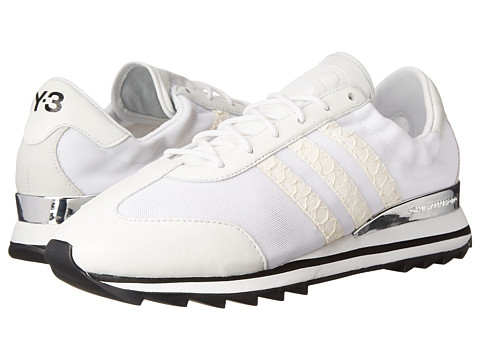 adidas Y-3 by Yohji Yamamoto - Rhita (White/White/Black) Women's Lace up casual Shoes