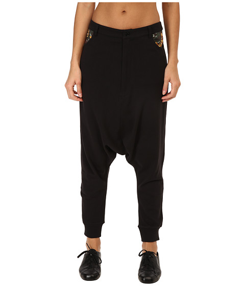 adidas Y-3 by Yohji Yamamoto - Resort Saroul (Black/Flower 1) Women's Casual Pants