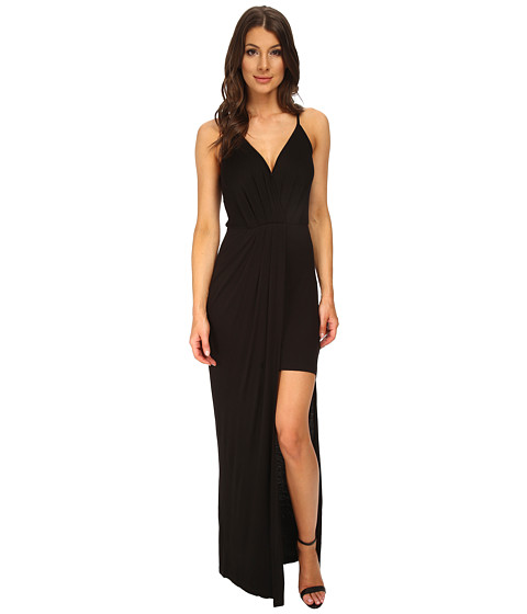 BCBGeneration - Cross Front Maxi (Black) Women