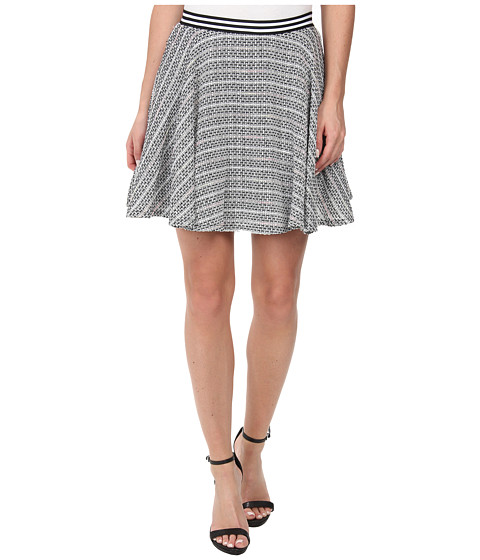 BCBGeneration - Circle Skirt (Black Multi) Women's Skirt