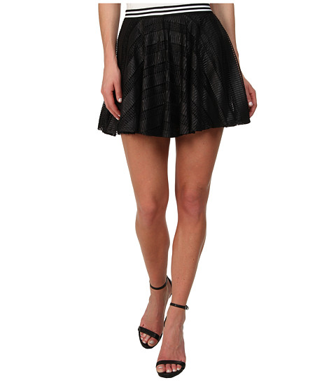 BCBGeneration - Circle Skirt (Black) Women's Skirt