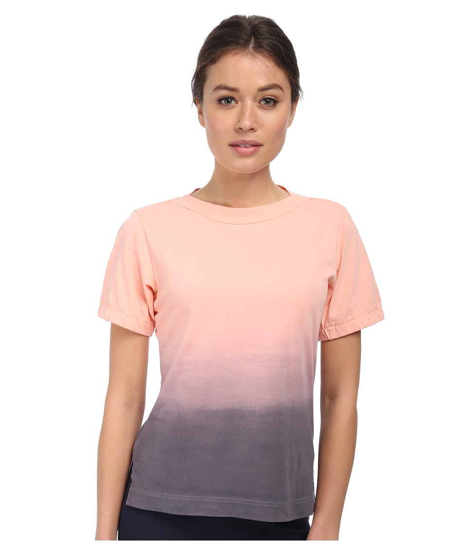 adidas Y-3 by Yohji Yamamoto - Dip Dye Tee (Light Flash Orange) Women's T Shirt
