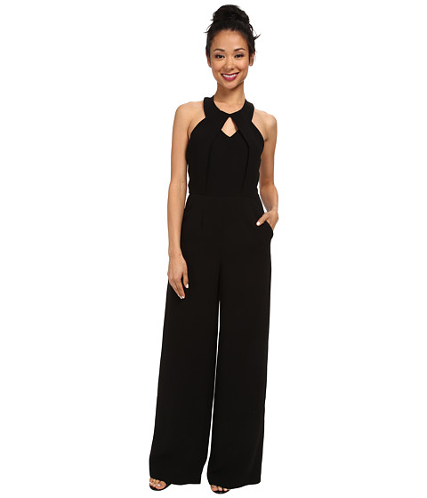 BCBGeneration - Wide Leg Jumpsuit (Black) Women's Jumpsuit & Rompers One Piece