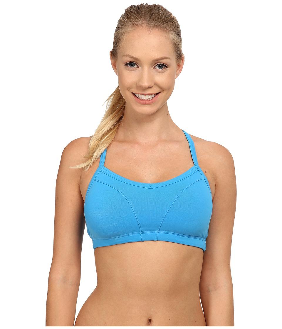 Lucy - Hatha Bra (Bright Blue) Women's Bra