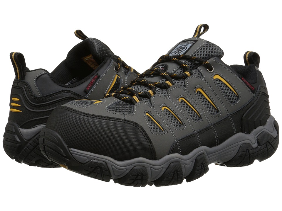 SKECHERS Work - Blais (Dark/Gray) Men