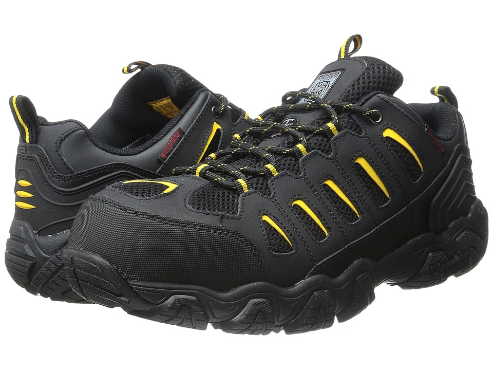 SKECHERS Work - Blais (Black/Yellow) Men's Work Boots