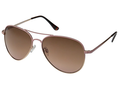 Steve Madden - S5646 (Rose Gold/Pink) Fashion Sunglasses
