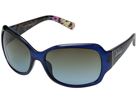 Steve Madden - S5625 (Navy/Leopard) Fashion Sunglasses