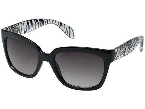 Steve Madden - S5634 (Black/Animal) Fashion Sunglasses