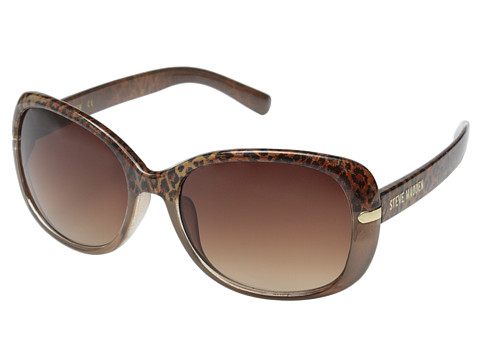 Steve Madden - S5623 (Brown/Animal) Fashion Sunglasses