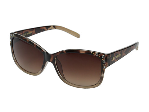 Steve Madden - S5638 (Tortoise/Nude) Fashion Sunglasses