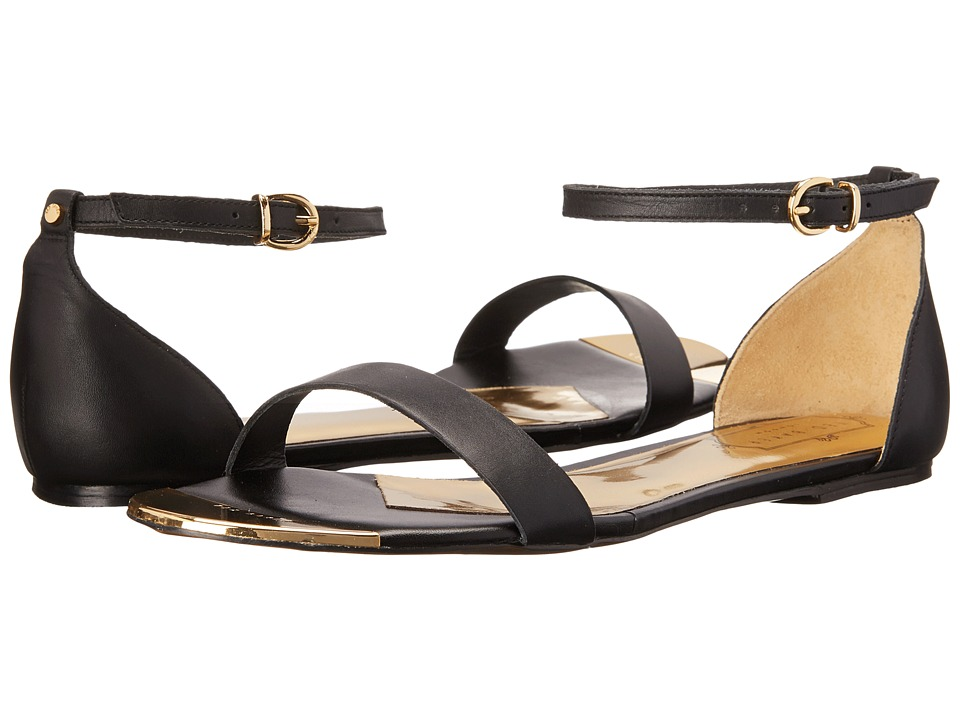 Ted Baker - Ballena 3 (Black/Gold) Women's Dress Sandals