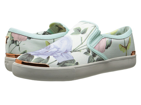 Ted Baker - Malbeck (Light Green/Multi) Women's Slip on Shoes