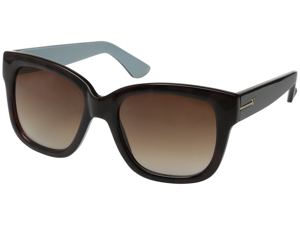 Vince Camuto - VC625 (Tortoise/Blue) Fashion Sunglasses