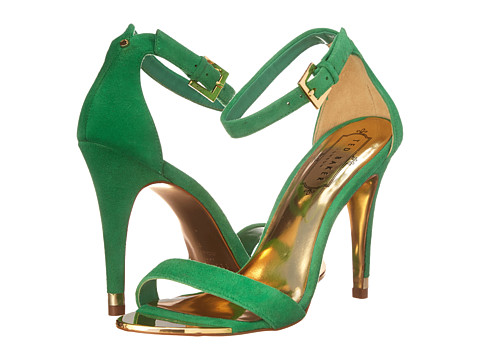 Ted Baker - Juliennas (Dark Green Suede) High Heels