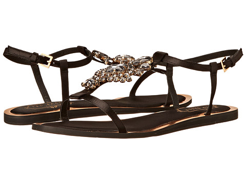Ted Baker - Roseupe (Black Textile) Women's Dress Sandals